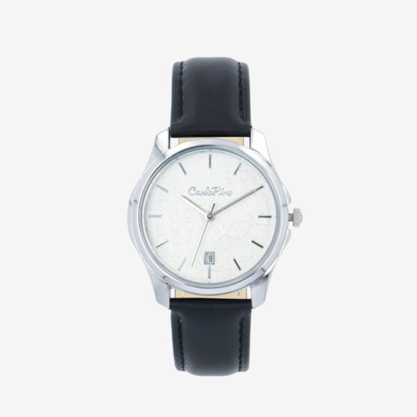 carlorino watch A93302 J006 08 1 600x600 - Timeless Essential Learther Strap Timepiece