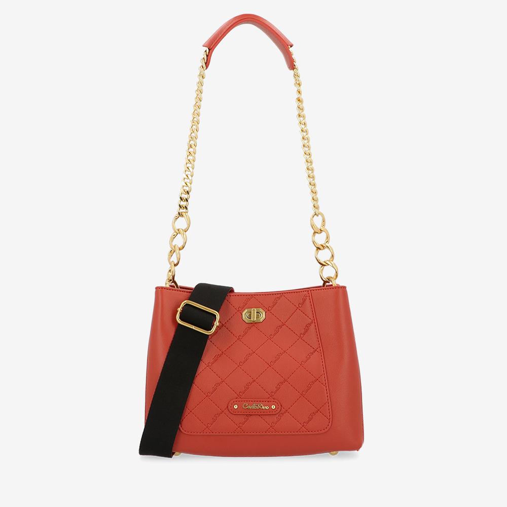 California Queen Chain Link Shoulder Bag