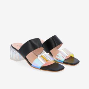 "carlorino shoe 33340 K004 08 1 300x300 - Irresistibly Chic 2"" Slip On Mules"