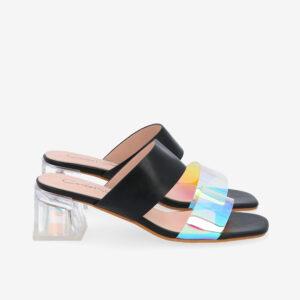 "carlorino shoe 33340 K004 08 2 300x300 - Irresistibly Chic 2"" Slip On Mules"