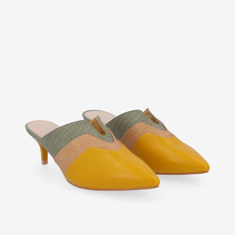 2″ Woo La La Mule Heels