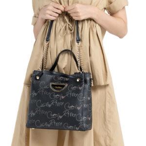 Upsized 3-way Monogrammed Bucket Bag