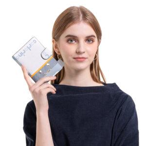 Girls in Blue Passport Holder