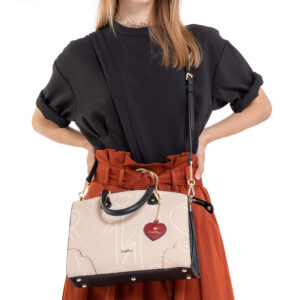 Love is in the Air Top Handle Tote