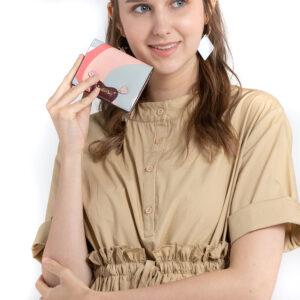 Posh in Pink Short Wallet