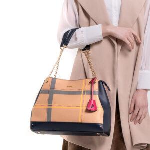 First in Line Chain Link Shoulder Bag