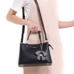 What a Mesh Top Handle Tote