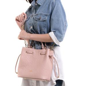 Fashion Forward 2-in-1 Drawstring Top Handle