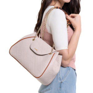 Perfect Blush Chain Strap Shoulder Bag
