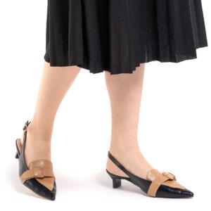 1.5: One Step Ahead Slingback Heels