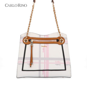 My Brown Cherie Amour Chain Link Shoulder Bag