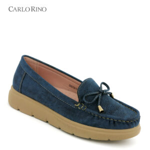 Chunky Base Beefroll Loafers with Ribbon