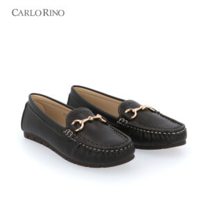 Camilie Accented Loafers with Perforated Vamp
