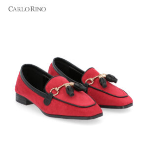 Pillow Walk Loafers with Tassels