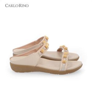 Pretty Preppy Slip-on Flat Sandals