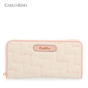 Tickled Pink Cushy Zip-around Wallet
