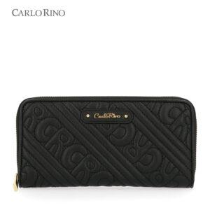 Dangerously Black Zip Wallet