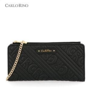 Dangerously Black Crossbody Wallet