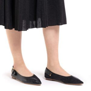 Buckle Me Up Pointed Toe Loafers
