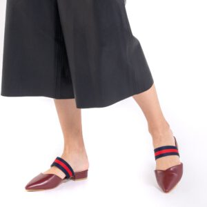 Half Inched Full Style Mule Flats