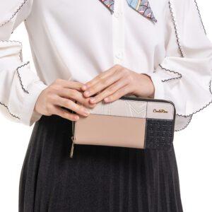 Patchwork Sweetheart Zip Wallet