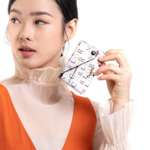 Voguish Dualism Card Holder