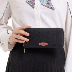 Elegance In Simplicity Zip Wallet