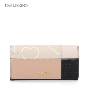 Patchwork Sweetheart 2-Fold Wallet