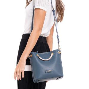 Take The Crown Top-Handle Bag