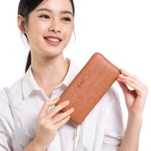 A Little Mischief Zip Wallet