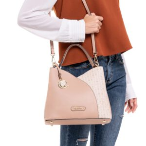 A Love To Blossom Top-Handle Bag