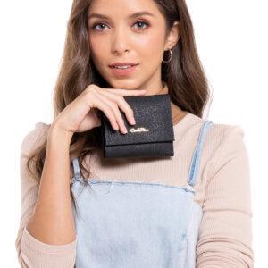 Classic Grainy Surface Bi-fold Wallet