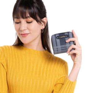 Tartan Is Stylish 2-Fold wallet