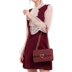 Quilted Glamorous Touch Crossbody