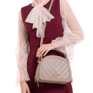 Sunkissed Seashell Top-Handled Bag
