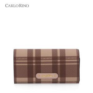 Tartan Is Stylish 2-Fold Long wallet