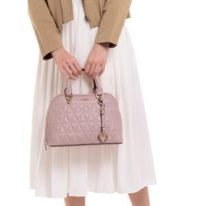 Blush On Fleek Top-Handle Bag