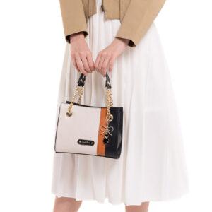 Classic Rosetta Top-Handle Bag