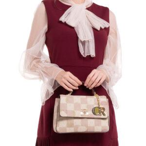 Pastel Palette Top-Handle Bag