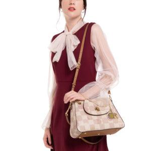 Pastel Palette Chain Link Shoulder Bag