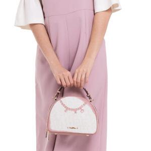Love and Cherish Semi Circle Top-handle bag