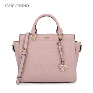 Blush On Fleek Top-Handle Bag II
