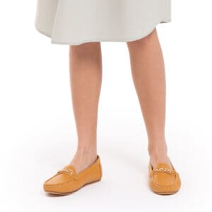 Chain Of Gold Loafers