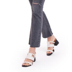 Au Naturale Heeled Sandals