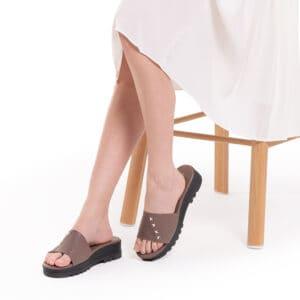 Dazzling Diamante Flat Sandals